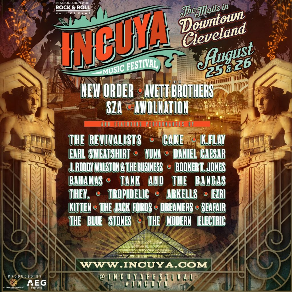 InCuya announces lineup for event Aug 25th & 26th
