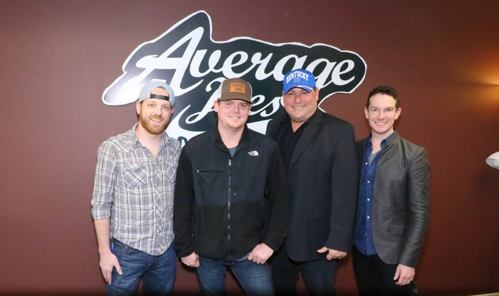 DUSTIN COLLINS JOINS AVERAGE JOES ENTERTAINMENT FAMILY