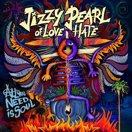 "Jizzy Pearl of Love/Hate to release new album ""All You Need is Soul"" on May 11th"