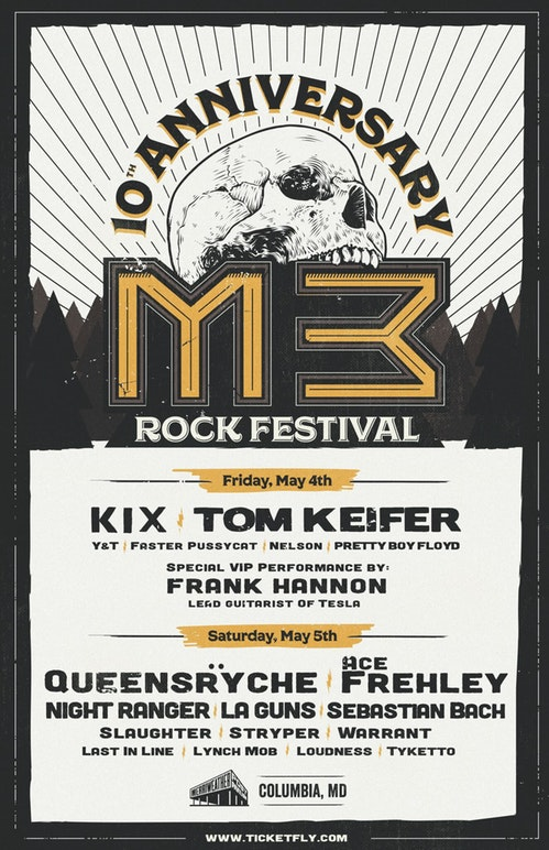 M3 Rockfest – slated May 4th and May 5th