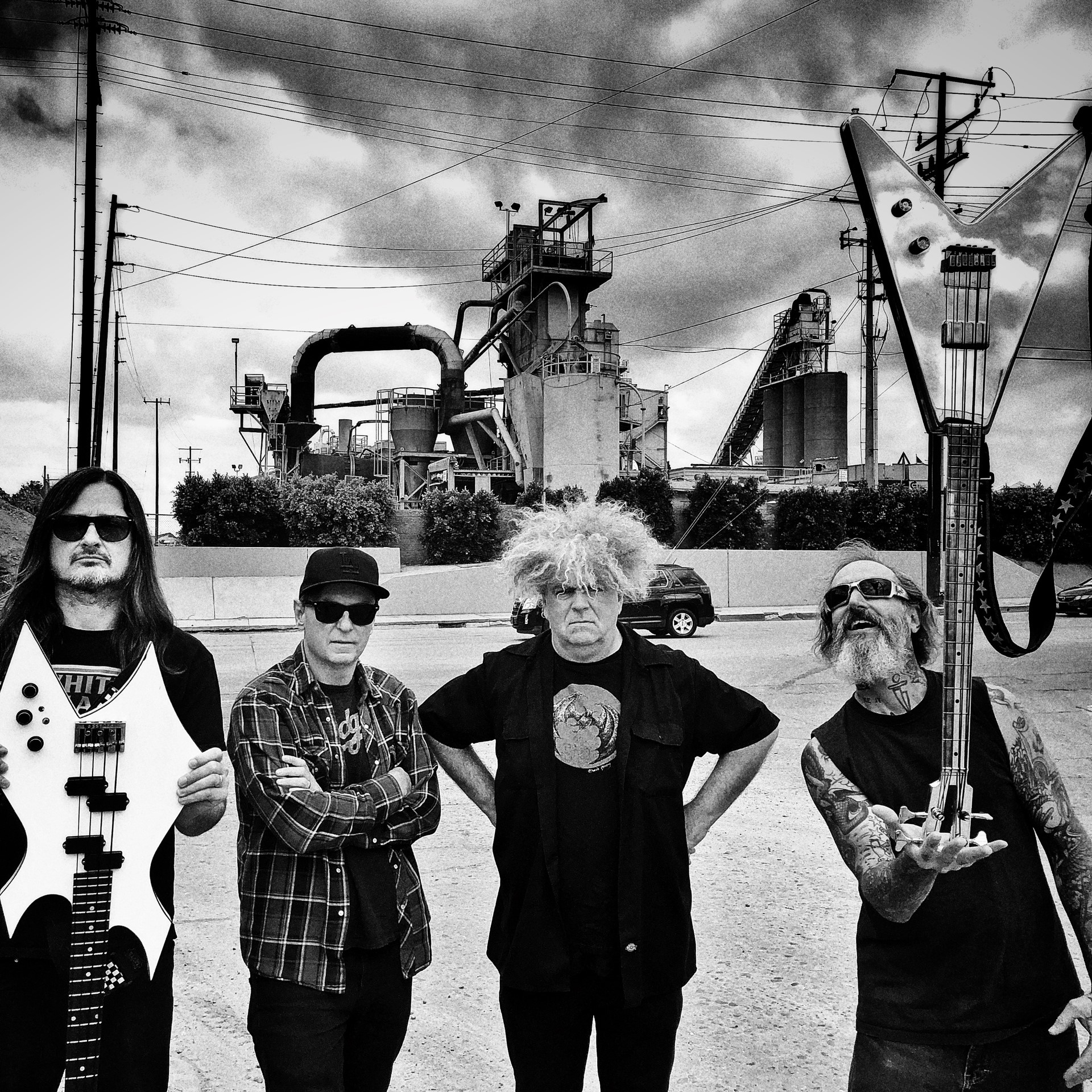 """The Melvins Share """"Don't Forget To Breathe"""" Video as Pinkus Abortion Technician Arrives"""
