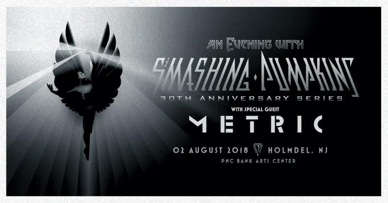 The Smashing Pumpkins Announce Special Performance In Holmdel, NJ On August 2, 2018 As Part Of 30th Anniversary