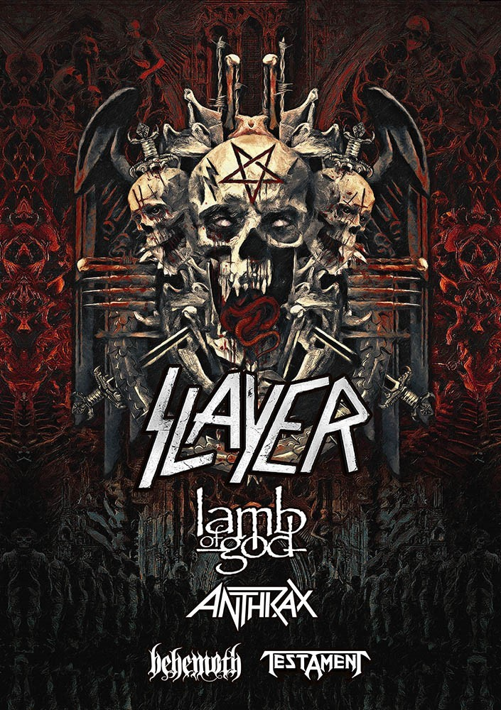 Slayer to deliver final tour to Blossom Music Center this week