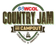 Cole Swindell & More Added to WCOL Country Jam + Campout; Along With All Star Monster Truck Demo, 4-Wheel Drive Truck & Tractor Pull  & Ohio's Biggest Honky-Tonk – August 30-September 1 At Legend Vall