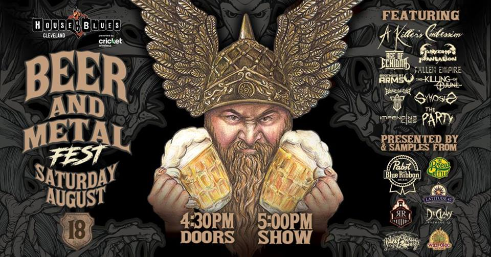 IMPENDING LIES – to throw down at the Beer & Metal Festival Aug 18 Cleveland HOB