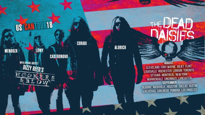 The Dead Daisies start their tour in Cleveland today