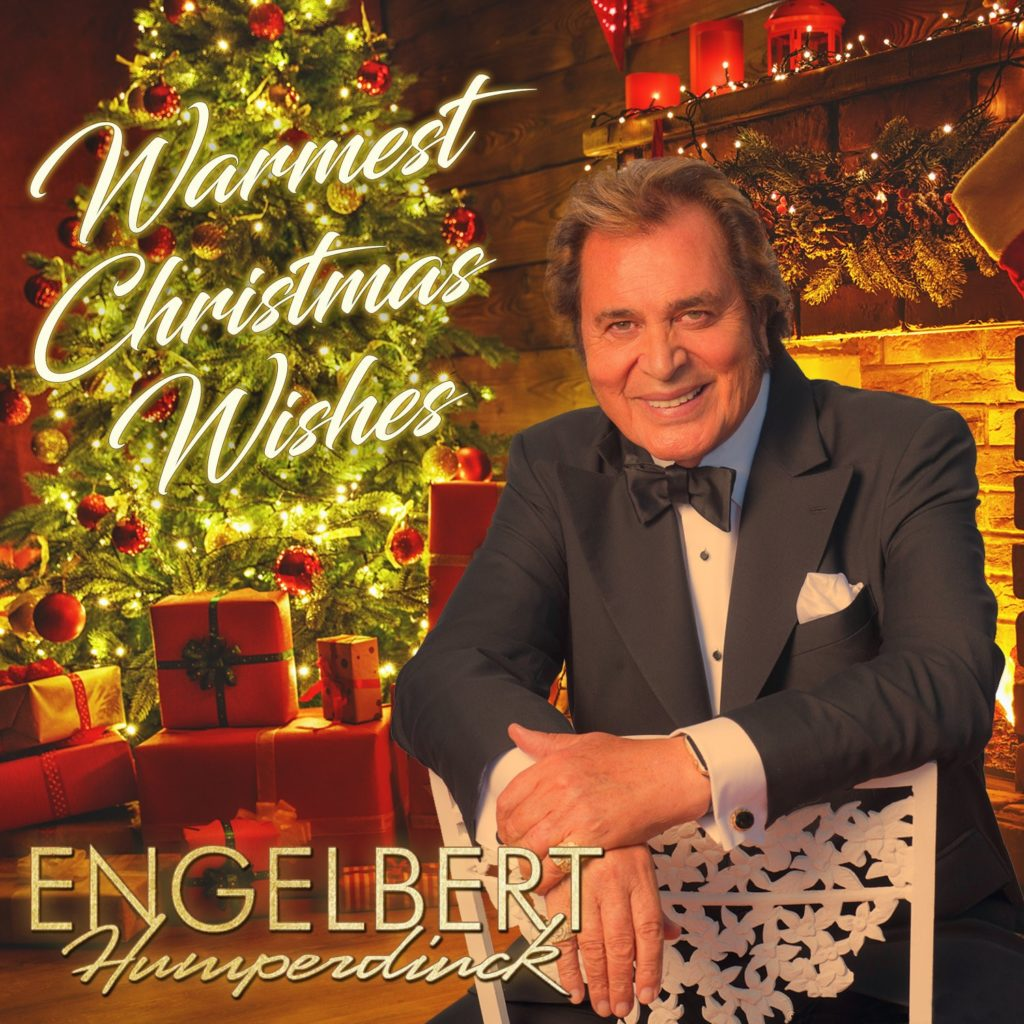 "Vocal Legend ENGELBERT HUMPERDINCK Delivers ""Warmest Christmas Wishes"" on Oct. 12th!"