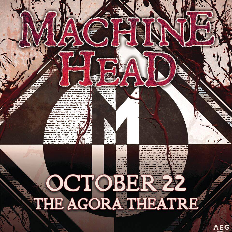 Machine Head to bring the pain to the Cleveland Agora Oct 22nd