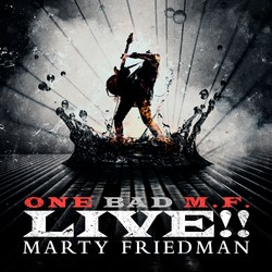 MARTY FRIEDMAN: 'ONE BAD M.F. Live!!' Due Out October 19