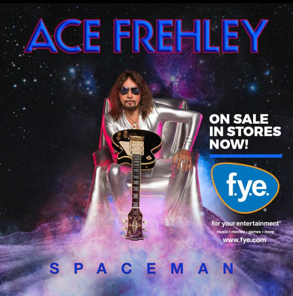 "ACE FREHLEY – releases ""Spaceman"" and also November tour dates"