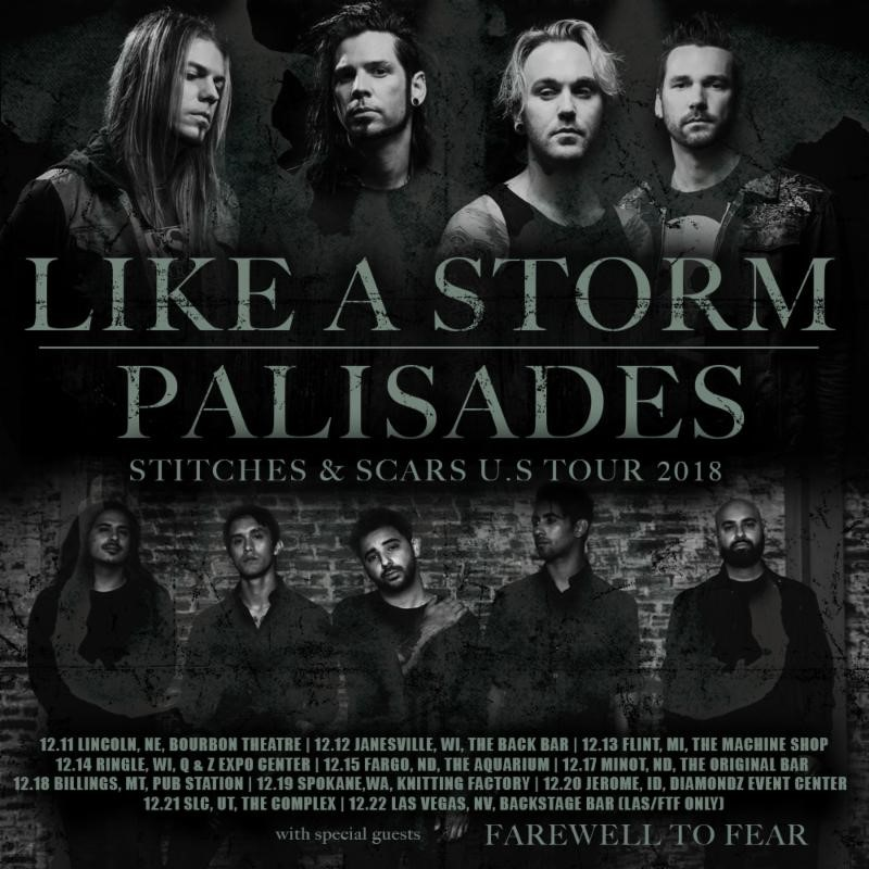 Like A Storm Announce December Headline Tour