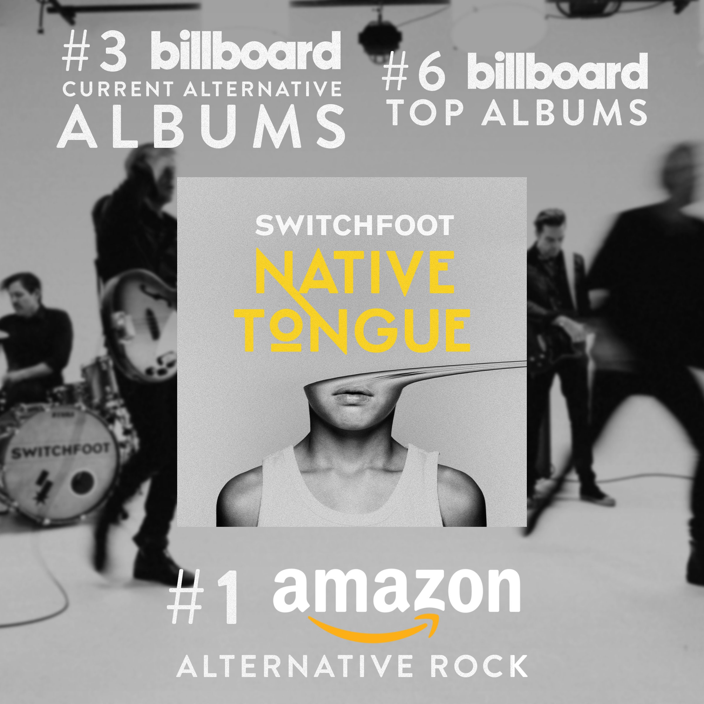 SWITCHFOOT's 'Native Tongue' Makes Impressive Chart Debut – tour dates