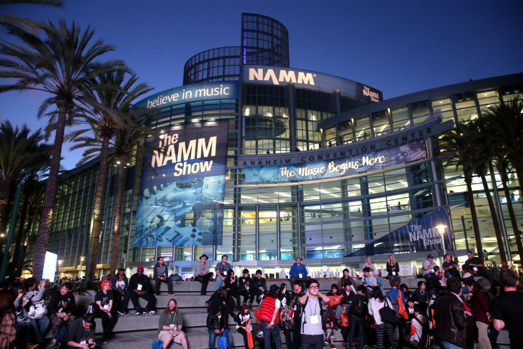 GEEKING OUT AT NAMM 2019