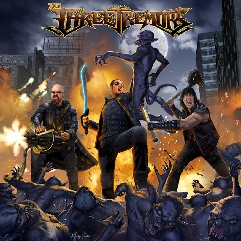 THREE TREMORS ANNOUNCE FIRST-EVER US TOUR, IN SUPPORT OF SELF-TITLED DEBUT!