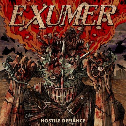 "Exumer – ""Hostile Defiance"" – Watch lyric video here"