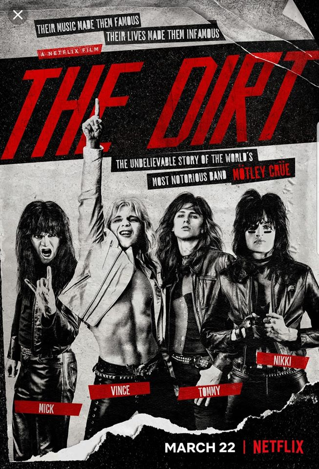 Motley Crue – THE DIRT (movie review)