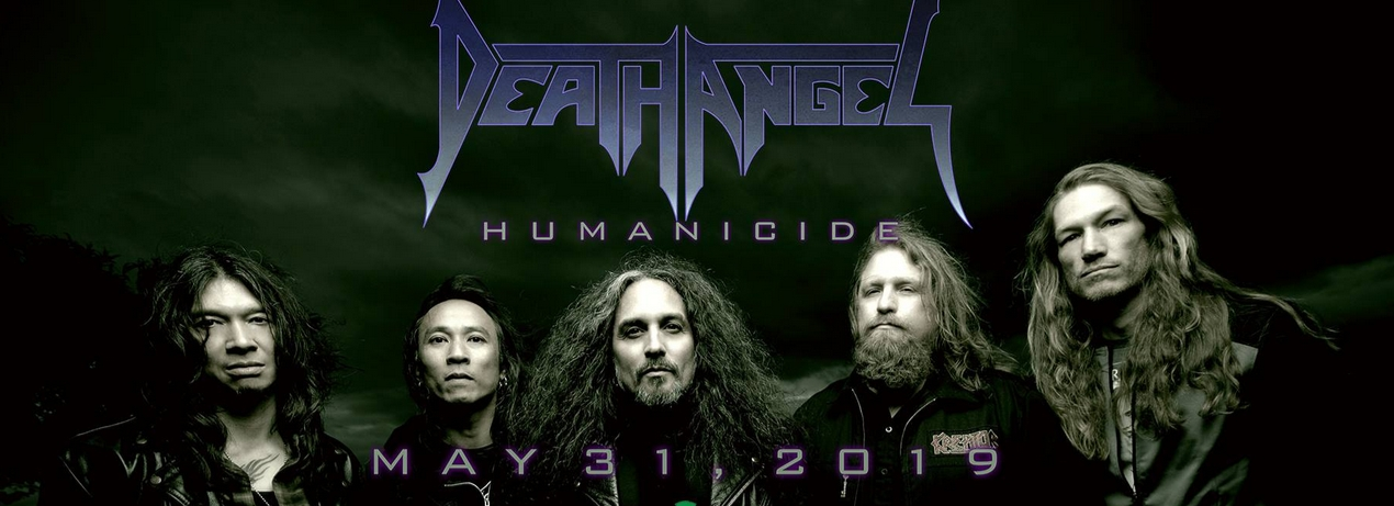 Death Angel talks about recording Humanicide / Catch DA Apr 28th Cleveland HOB