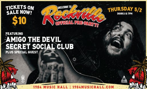 Welcome To Rockville Announces Onsite Collaboration With Metallica's Blackened Whiskey & Enter Night Pilsner, Plus Band Performances Times, Official Pre-Party Ahead Of Fest, May 3-5 In Jacksonville