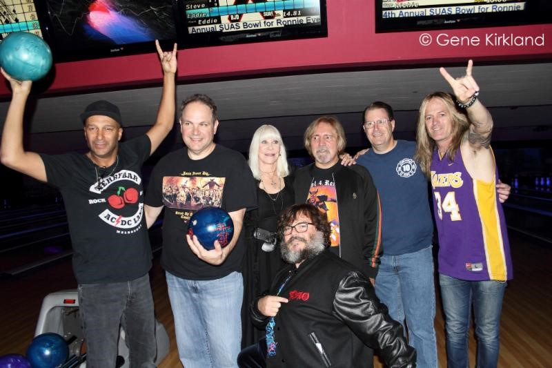 "Fifth Annual ""Bowl for Ronnie"" Celebrity Bowling Party Set for Thursday, November 7 to Benefit the Ronnie James Dio Stand Up and Shout Cancer Fund"