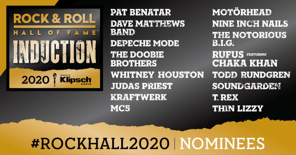 Rock & Roll Hall of Fame Announces 2020 Nominees
