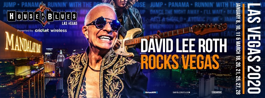 David Lee Roth starts his Vegas residency