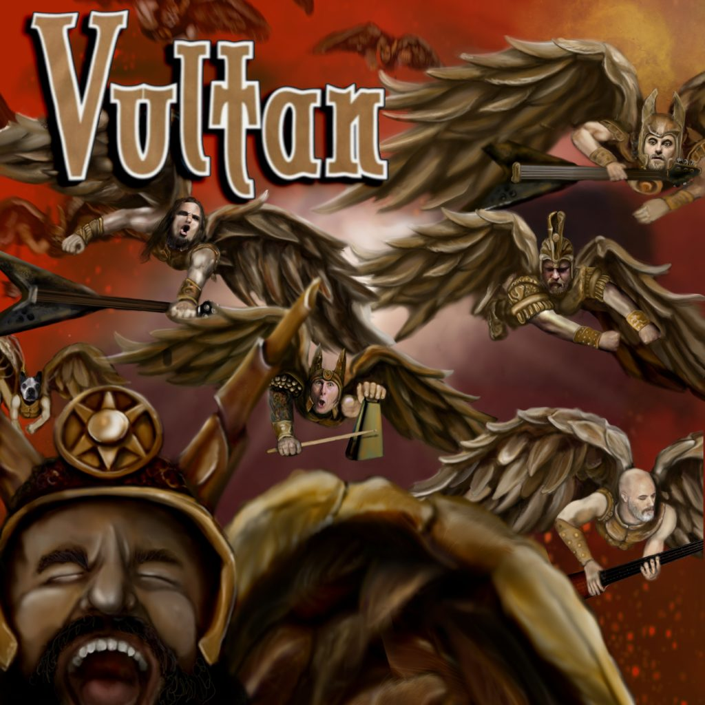 The new Vultan EP is out. Get it and turn it up LOUD!