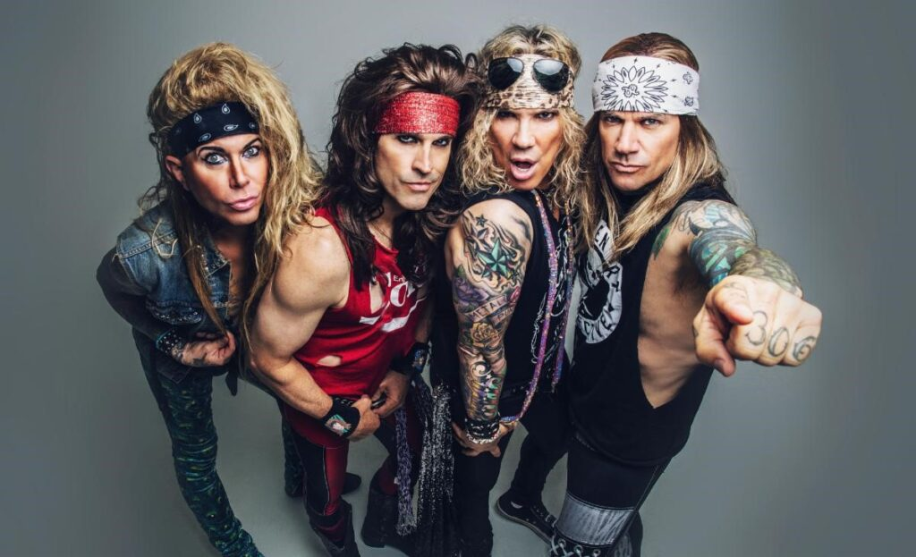 STEEL PANTHER DOUBLE YOUR PLEASURE VIRTUALLY WITH  2 TICKETS FOR $20 UNTIL DECEMBER 5