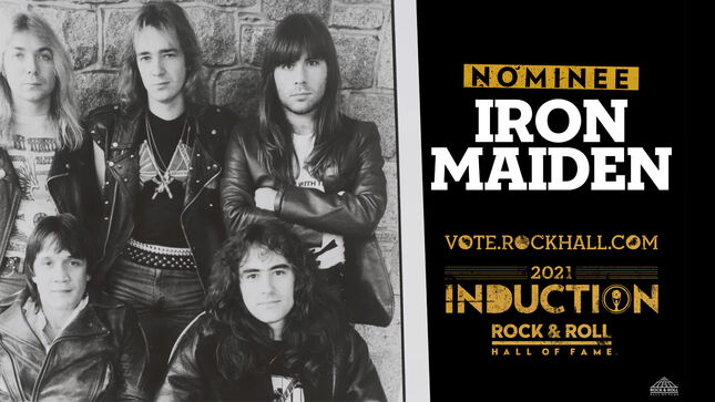 Iron Maiden has made it in as a Nominee for the Rock Hall 2021